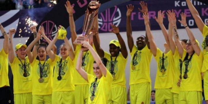 Fenerbahçe kupada şampiyon oldu