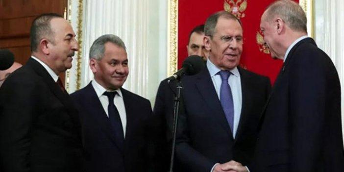 Moskova'daki zirvede Lavrov, Erdoğan'a ne dedi?