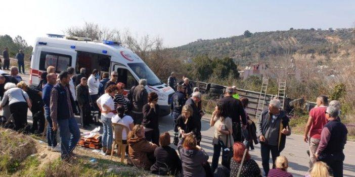 Kadınlar Günü gezisi dönüşü kaza: 35 yaralı!