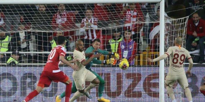 Galatasaray-Sivasspor 2-2