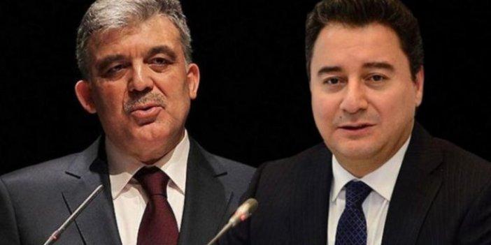 Ali Babacan ile Abdullah Gül arasında kriz çıkıtı iddiası