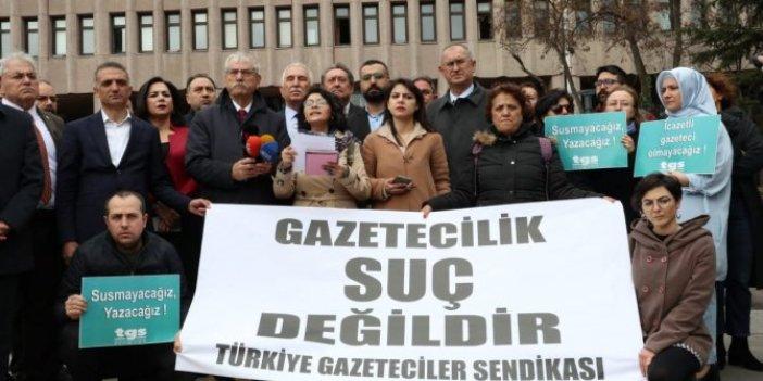 Gazetecilereden Bakanlığa çağrı: Serbest bırakın