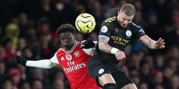 Arsenal-Manchester City maçı coronavirüs nedeniyle ertelendi!