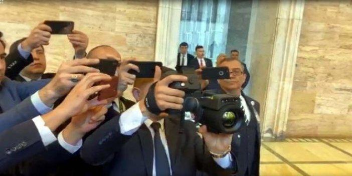 Tayyip Erdoğan'a termal kameralı corona virüsü koruması