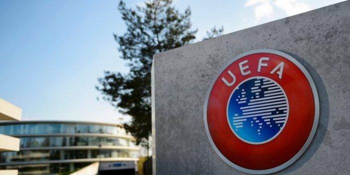 UEFA flaş karar: Tüm organizasyonlar ertelendi!