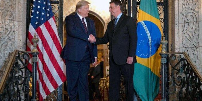 Brezilya Devlet Başkanı'nda corona virüs çıktı