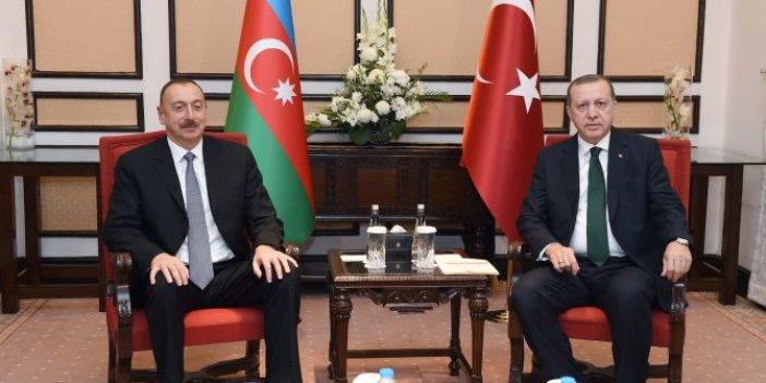 Erdoğan ve Aliyev görüştü: Türkiye ile Azerbaycan arasında ulaşım durdu!