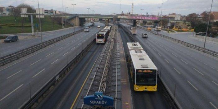 İstanbul trafiğine 'virüs' etkisi!