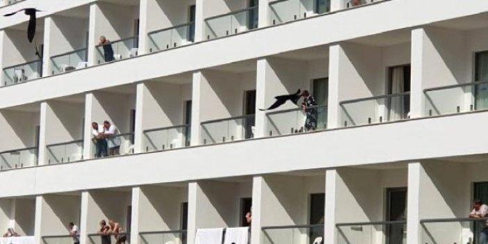 KKTC'de karantinaya alınan o otel böyle görüntülendi!