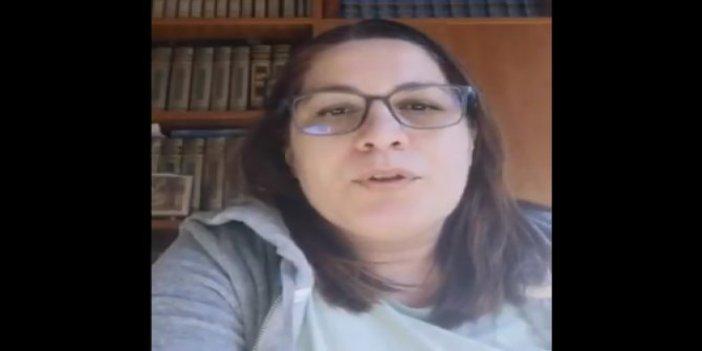 Senem Onen'in İtalya'da çektiği koronavirüs videosu gündem oldu