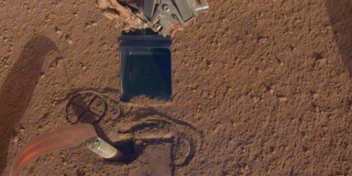 Mars'taki keşif aracı sıra dışı yöntemle düzeltildi