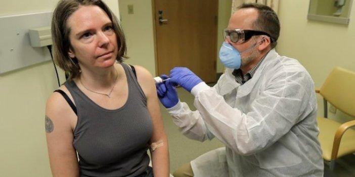 Korona virüs aşısı ilk kez bir insanda denendi