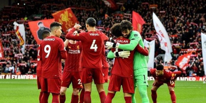 Liverpool, şampiyon ilan edilmeyi bekliyor