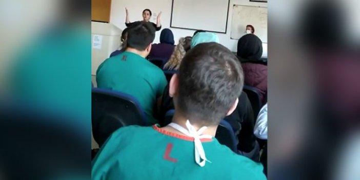 Ankara Üniversitesi, Güle Çınar'a açıklama yaptırdı