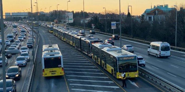 """Ekrem İmamoğlu: """"İstanbul'da ulaşım seferleri kısıtlanacak"""""""