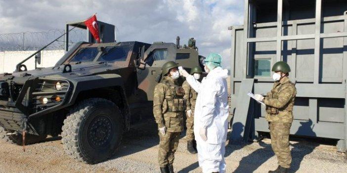 MSB'den sınır birliklerinde korona virüs önlemi
