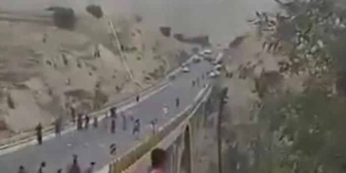 İran'da virüs şüphesiyle araçlar taşlanıyor