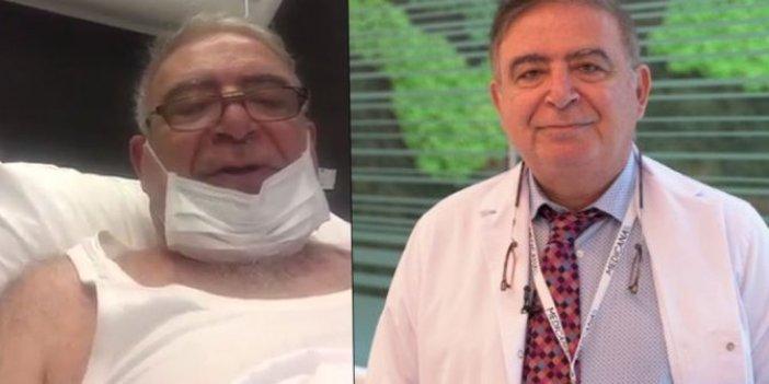 Göğüs Hastalıkları Profesörü Salih Emri, test sonucunun saklandığını söyledi
