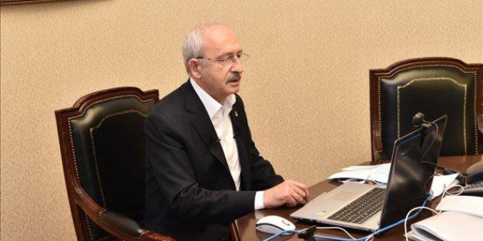 Kılıçdaroğlu CHP'li başkanlarla korona virüsü konuştu