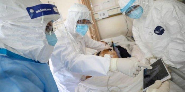 Korona hastasının akciğerinden cam benzeri kesecikler çıktı