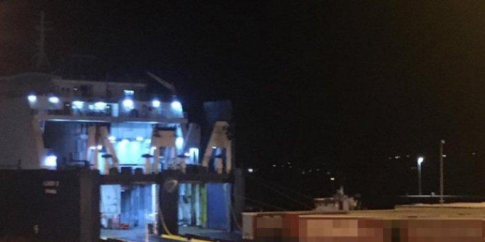 Şok iddia: İtalya'dan gelen gemi Çeşme Limanı'nda!