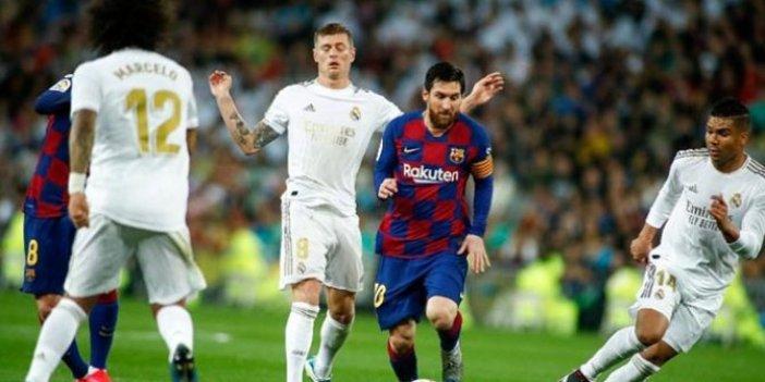 La Liga süresiz askıya alındı