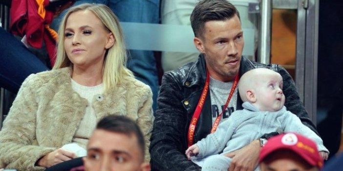 Galatasaraylı Martin Lines'in eşi Haugen: Ülkeme dönmek istiyorum