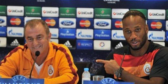 Melo ve Drogba'dan Galatasaray teknik direktörü Fatih Terim'e destek