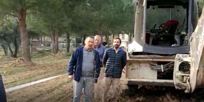 Rektör, dozerle yerli tohum arazisini ezdi geçti!