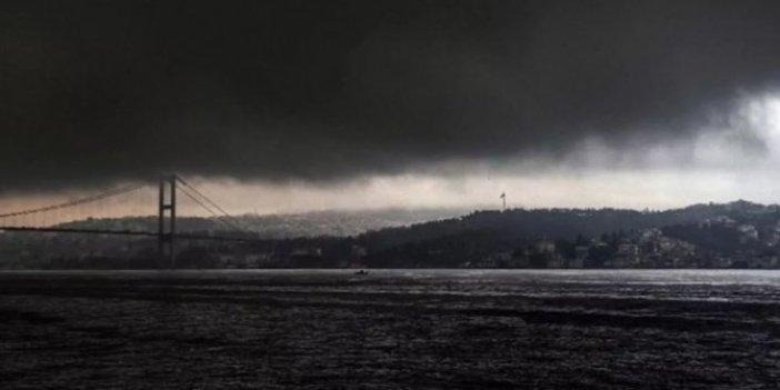 Meteoroloji'den İstanbul için 'sarı' uyarı