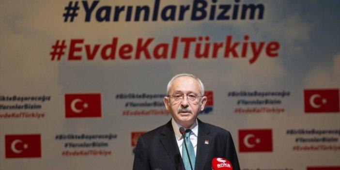 Kılıçdaroğlu'ndan AKP'ye 'Evde tutun' çağrısı