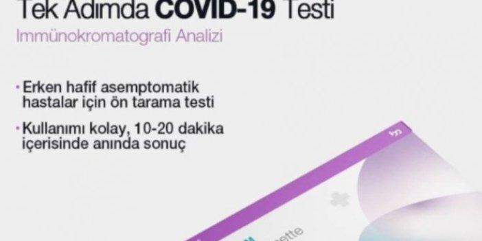 Korona testlerinde bir skandal daha!