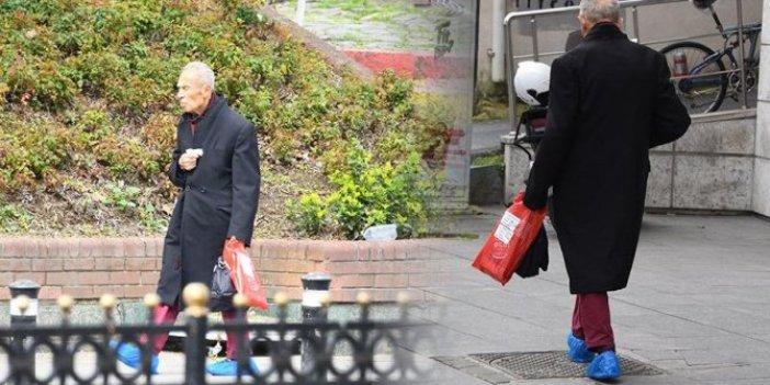 93 yaşındaki ünlü sanatçı İlham Gençer korona yasağı dinlemedi!