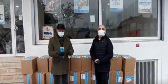 Yaşlıların yardımına koştular