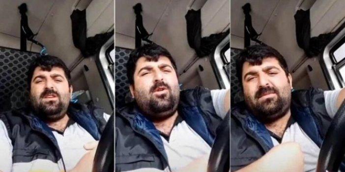 Sosyal medyayı sallayan TIR şoförü Yeniçağ'a konuştu