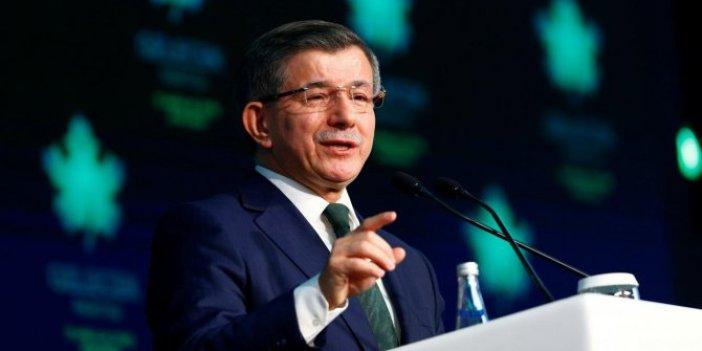 Gelecek Partisi Genel Başkanı Davutoğlu: Burada bir terslik yok mu?