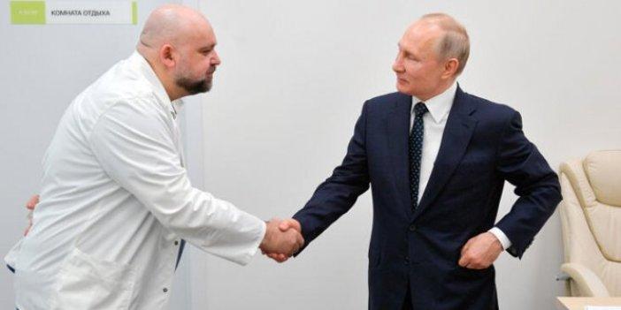 Putin'e hastane gezdiren doktorda korona virüs