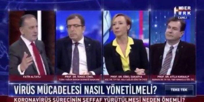 Fatih Altaylı canlı yayında isyan etti: 'Öyle eve babam da sığar'