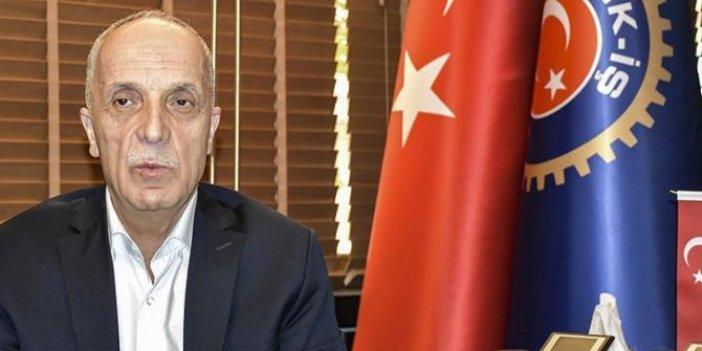 Türk-İş'ten hükümete çağrı: İşten çıkarmalar yasaklasın!