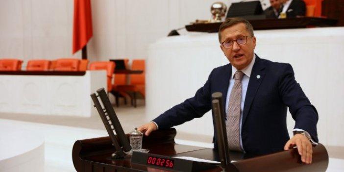 İYİ Parti Grup Başkanvekili Lütfü Türkkan: Korona virüs salgınının sorumlusu hükümettir