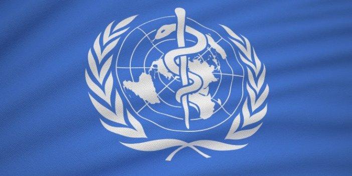 Dünya Sağlık Örgütü'nden korona virüs açıklaması