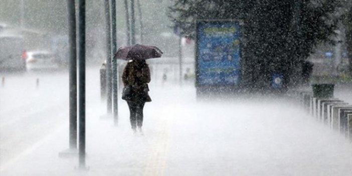 Meteoroloji'den İzmir için turuncu alarm