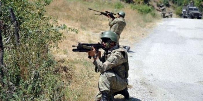 18 PKK'lı terörist havadan vuruldu