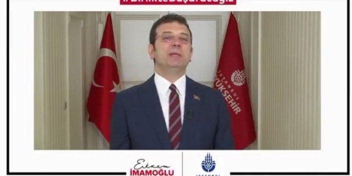 Ekrem İmamoğlu: Vakıfbank 900 bin TL'ye bloke koydu
