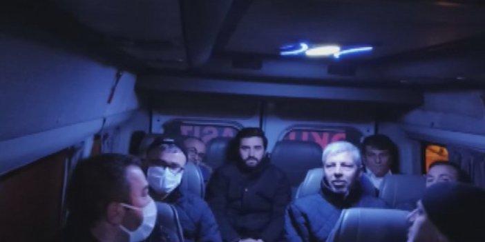 İETT şoförlerini taşıyan servis aracı korona virüs tedbirlerine uymadı