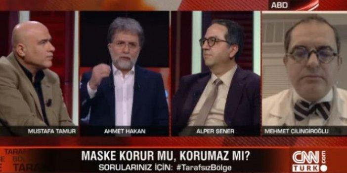 Habertürk'te canlı yayını terk etti CNN Türk'te uyarıda bulundu