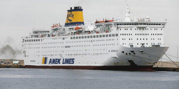 Yunanistan'ın Pire Limanı'ndaki gemideki 65 Türkün testi pozitif çıktı