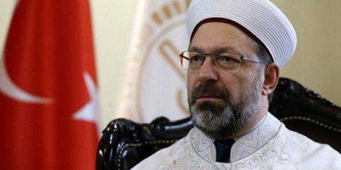 Kulislerden sızdı:Erdoğan az daha Diyanet İşleri Başkanı'nı görevden alıyordu