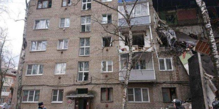 Rusya'da patlama! Bina çöktü: Ölü ve yaralı haberleri geliyor