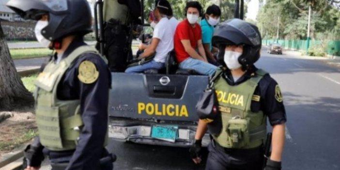 Peru'da cinsiyete göre sokağa çıkma yasağı